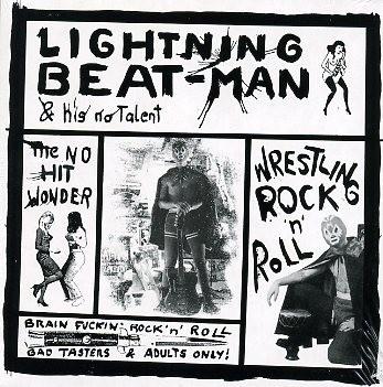 LIGHTNING BEAT-MAN - Wrestling Rock'n'Roll CD