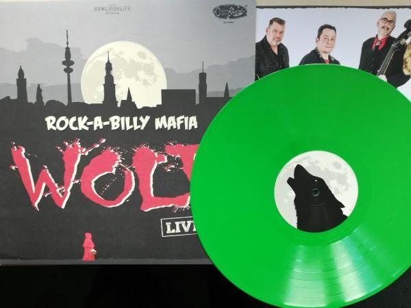 ROCK-A-BILLY MAFIA - Wolf LP ltd. green
