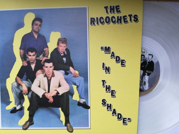 RICOCHETS - Made In The Shade LP clear ltd.