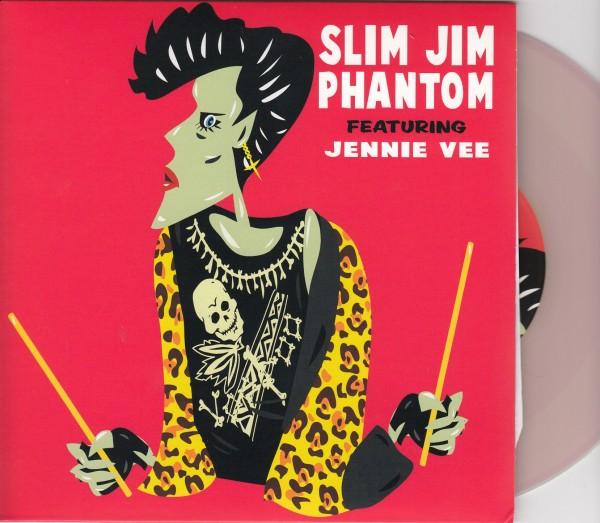"SLIM JIM PHANTOM - Locked Down In Love 7"" ltd."