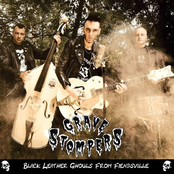 GRAVE STOMPERS - Black Leather Ghouls From Fiendsville CD