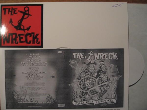THE WRECK - Sailors Grave LP test pressing