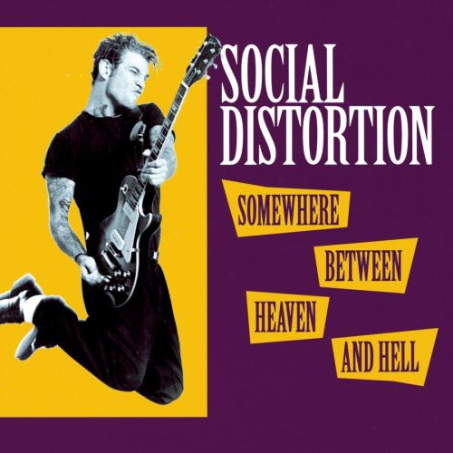 SOCIAL DISTORTION - Somewhere Between Heaven And Hell LP ltd.
