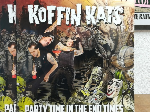 KOFFIN KATS - Party Time In The End Times LP ltd.