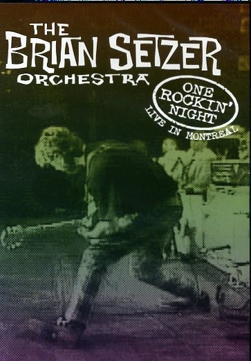 BRIAN SETZER ORCHESTRA - One Rockin' Night DVD