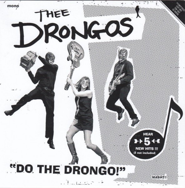 "DRONGOS, THEE - Do The Drongo 7""EP ltd."