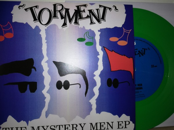 "TORMENT - The Mystery Men EP 7""EP green ltd."
