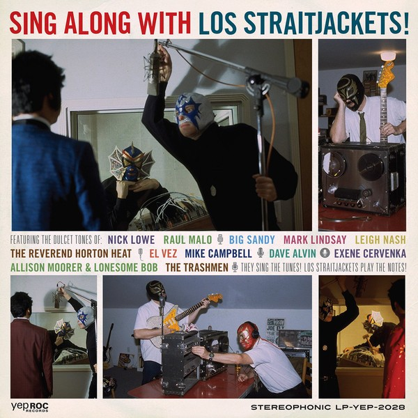 LOS STRAITJACKETS - Sing Along With..LP + 7""