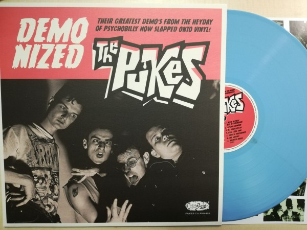 PUKES - Demonized LP ltd. blue