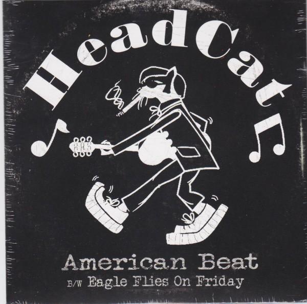 "HEADCAT - American Beat 7"" ltd,"