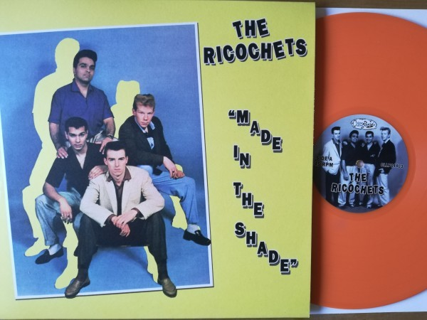 RICOCHETS - Made In The Shade LP ltd. ORANGE