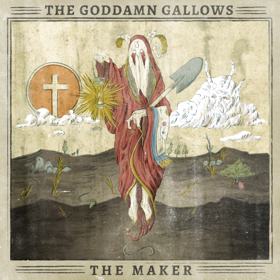 GODDAMN GALLOWS - The Maker CD