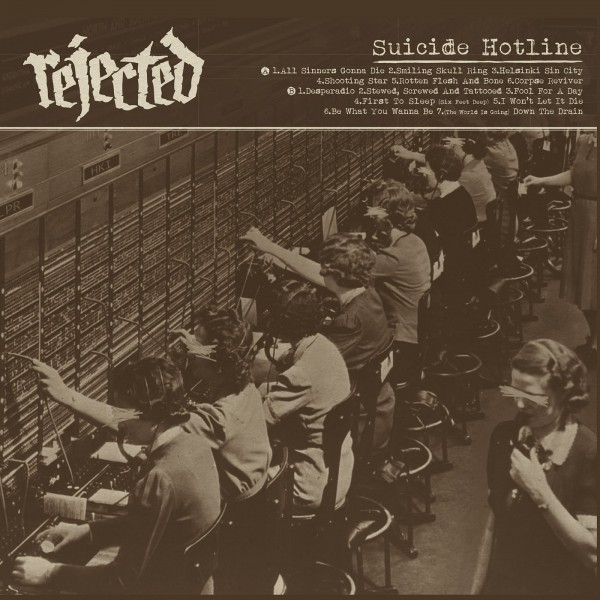 REJECTED - Suicide Hotline LP
