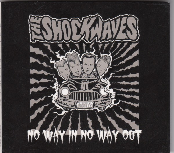 SHOCKWAVES - No Way In No Way Out CD ltd.