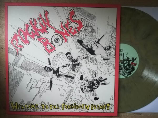 ROCKIN' BONES - Welcome To The Forbidden Planet LP ltd. BEIGE