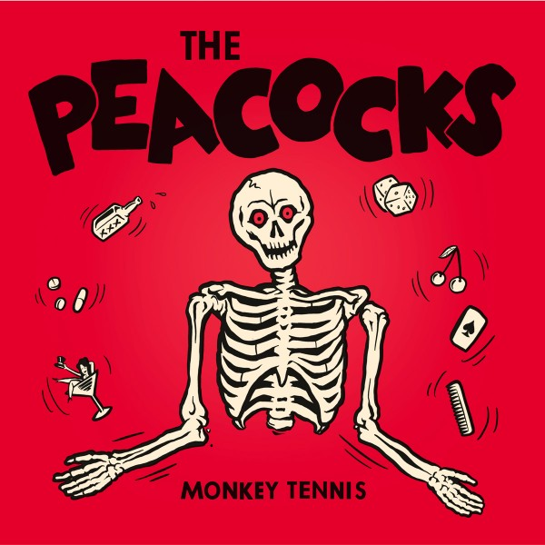 "PEACOCKS - Monkey Tennis 7""EP ltd."
