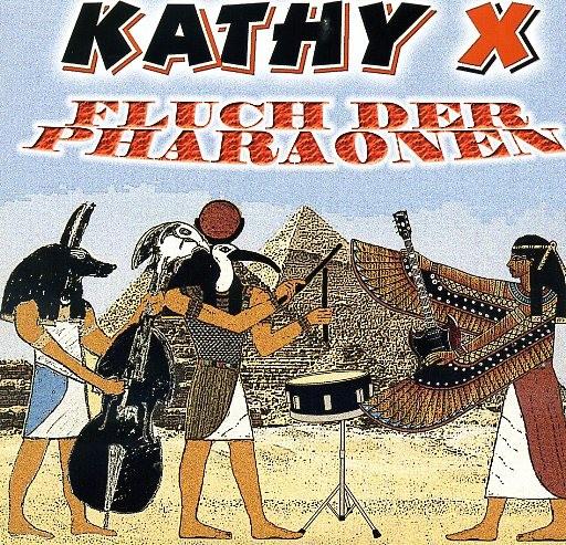 "KATHY X - Fluch der Pharaonen 7"" ltd."
