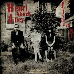 HEART ATTACK ALLEY - Living In Hell LP + CD