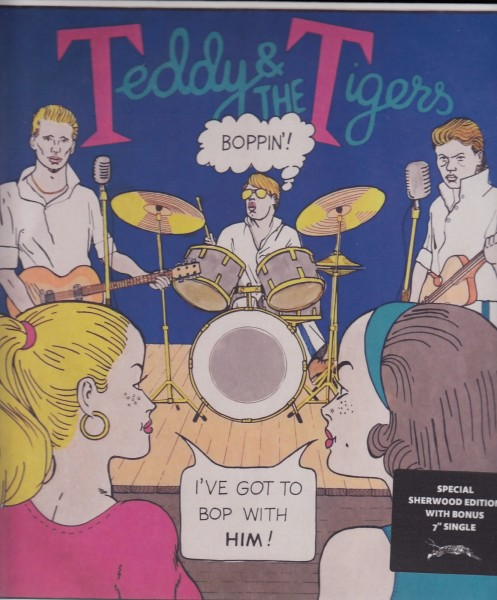 TEDDY & THE TIGERS - Boppin' LP