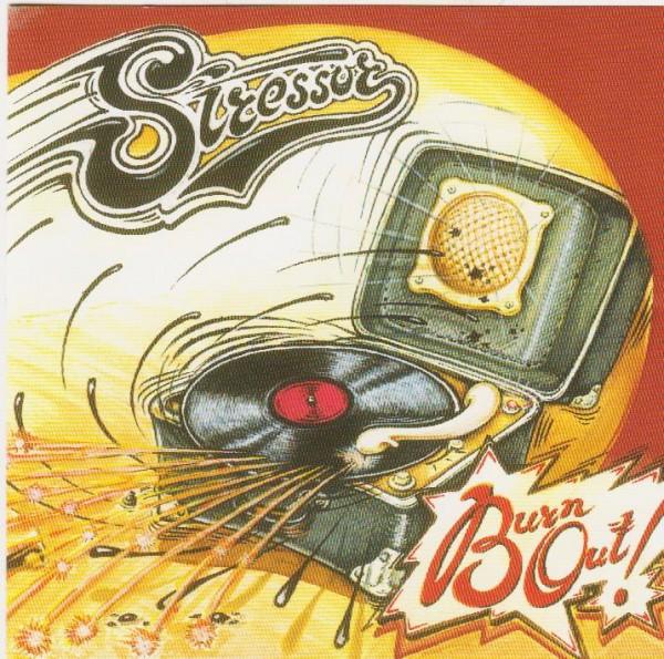 STRESSOR - Burn Out CD