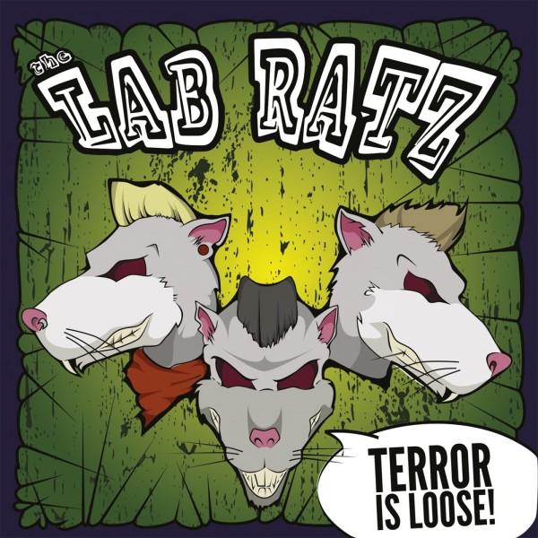 LAB RATZ - Terror Is Loose LP green ltd.