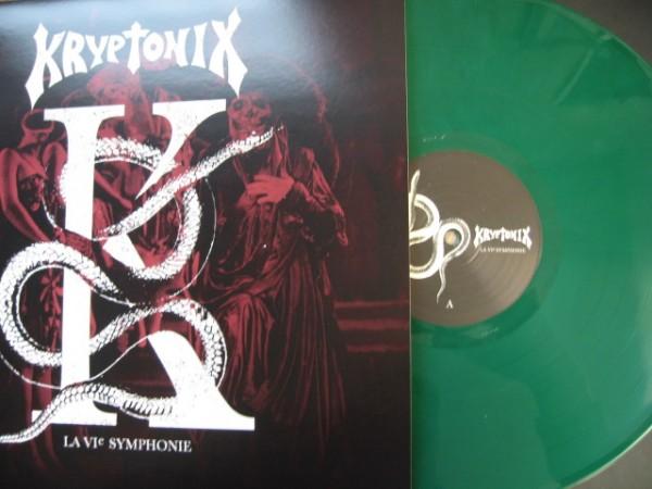 KRYPTONIX - La 6ème Symphonie LP GREEN ltd.