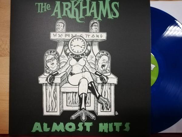 ARKHAMS - Almost Hits LP ltd. blue