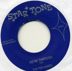TOP-HANDS - I`m Through With You 7""