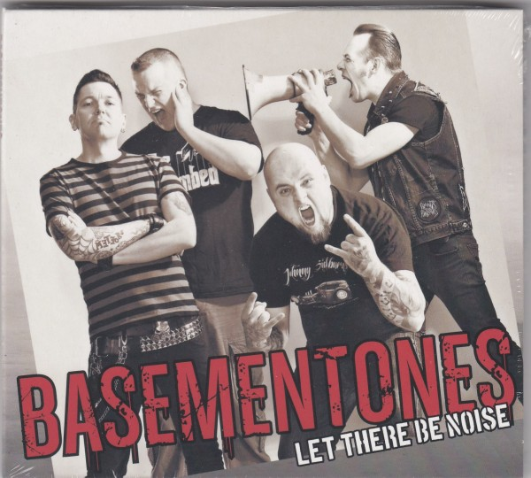 BASEMENTONES - Let There Be Noise CD