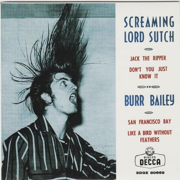 "SCREAMING LORD SUTCH - Jack The Ripper 7""EP ltd."