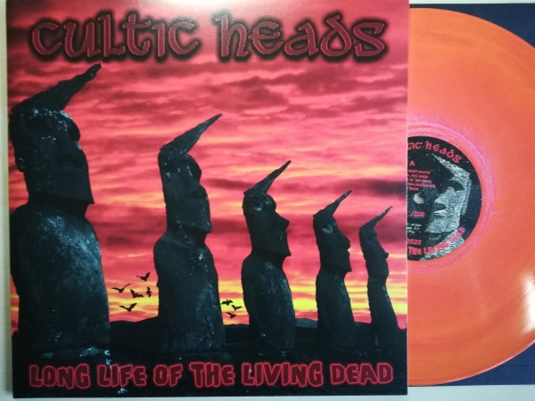 CULTIC HEADS - Long Life Of The Living Dead LP ltd. orange