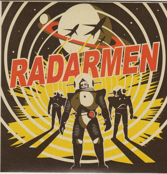 "RADARMEN - Invasion Of The Radarmen 7""EP"