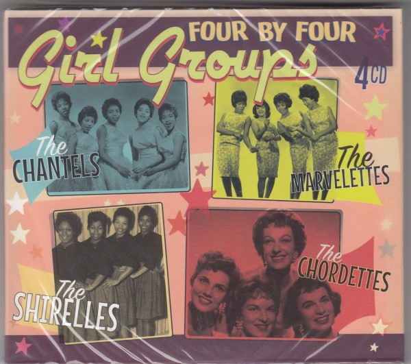 V.A. - Four By Four Girl Groups 4xCD