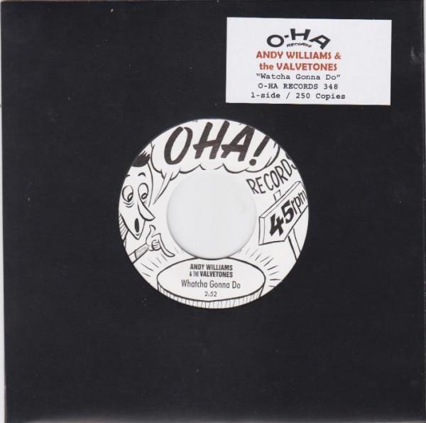 "ANDY WILLIAMS & THE VALVETONES - Whatcha Gonna Do 7"" ltd."