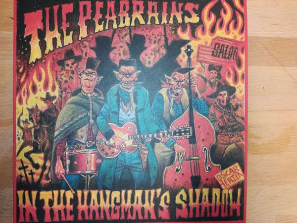 PEABRAINS - In The Hangman's Shadow LP black