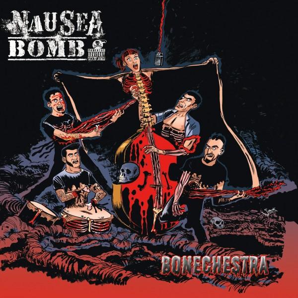 NAUSEA BOMB - Bonechestra LP ltd.
