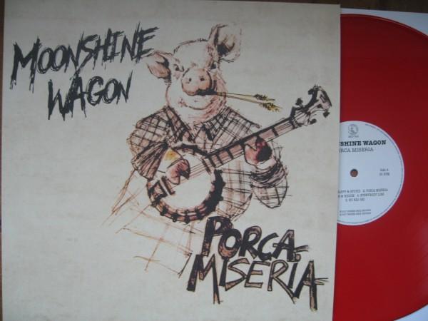 MOONSHINE WAGON - Porca Miseria! LP ltd. red