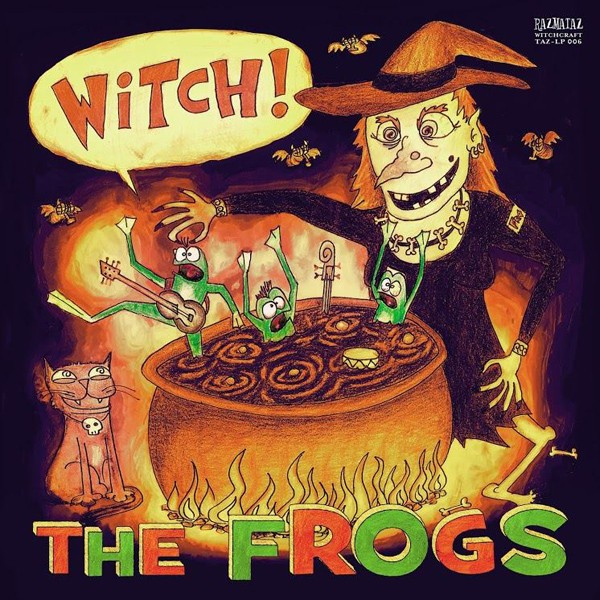 FROGS - Witch! LP