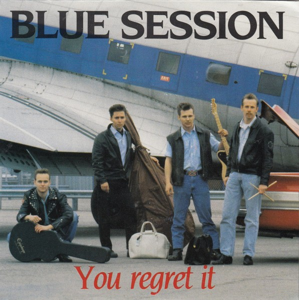 "BLUE SESSION - You Regret It 7"" 2nd hand"