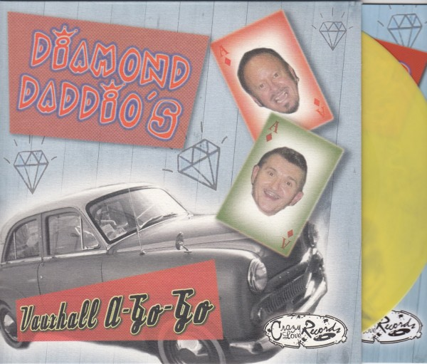 "DIAMOND DADDIO'S - Vauxhall A-Go-Go 7""EP yellow ltd."