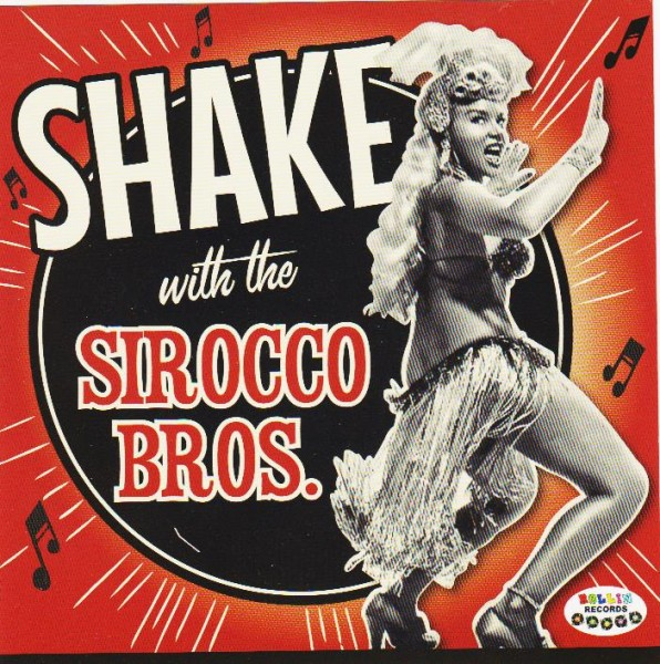 SIROCCO BROS - Shake With CD