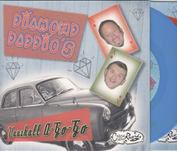 "DIAMOND DADDIO'S - Vauxhall A-Go-Go 7""EP light blue ltd."
