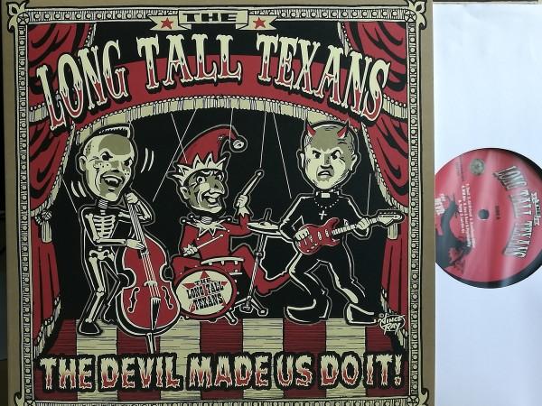 LONG TALL TEXANS - The Devil Made Us Do It! LP black!